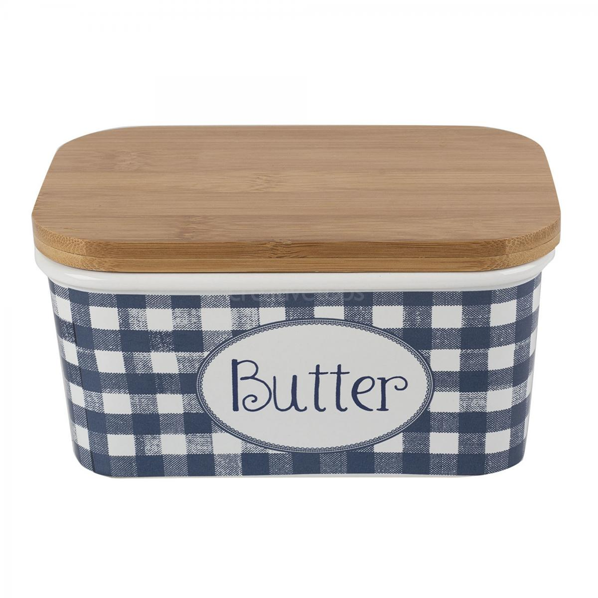 Vintage Indigo large Butter Dish – Now Only £12.00