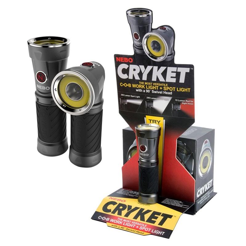 CRYKET Work light & Spot light – Now Only £20.00