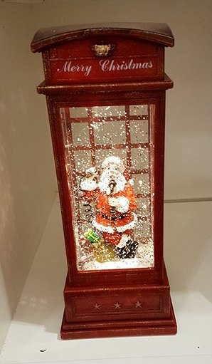 NEW Water filled Phone Box Warm White LED and Timer 5 hours – Now Only £20.00
