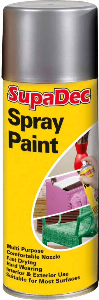 Spray Paint  - Silver 400ml  – Now Only £3.50