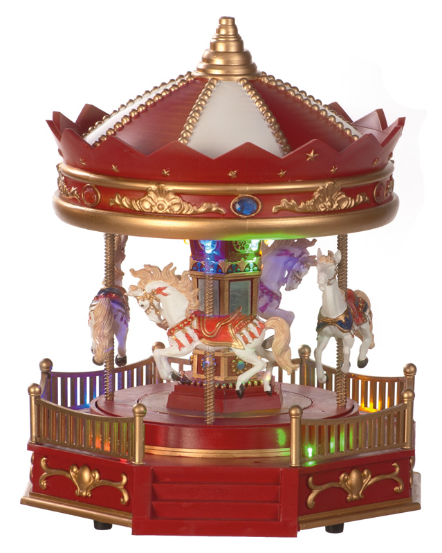 25cm Battery operated Musical carousel – Now Only £25.00