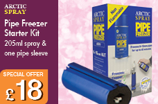 Arctic Spray starter kit (205ml + 1 jacket) – Now Only £18.00