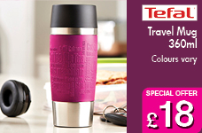 Travel Mug 360ml - various colours – Now Only £18.00