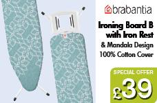 Size B Mandala Design ironing Board – Now Only £39.00