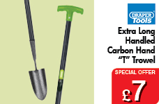 Extra Long Carbon Hand T Trowel – Now Only £7.00