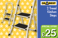 Kitchen Steps - 2 Tread – Now Only £25.00