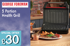 5 Portion Grill - Red – Now Only £30.00