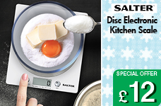 Disc Electronic  Kitchen Scale 5kg - White – Now Only £12.00