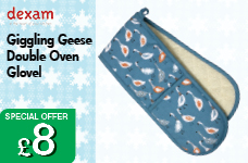 Giggling Geese Double Oven Glove – Now Only £8.00