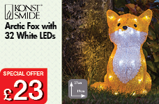 NEW Fox with 32 White LEDs – Now Only £23.00