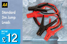 Standard Jump Leads – Now Only £12.00