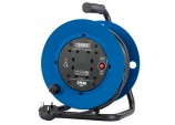 230V Four Socket Industrial Cable Reel (25m)