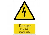 'Danger Electric Shock' Hazard Sign