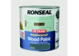 10 Year Weatherproof Satin Wood Paint - 2.5L Grey