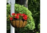 Flat Bar Hanging Basket - 12