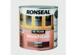 10 Year Woodstain Satin 250ml - Dark Oak