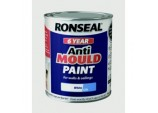 6 Year Anti Mould Paint 750ml - White Silk