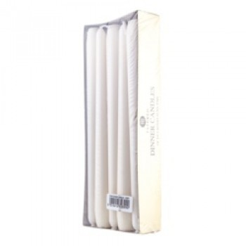 Dinner Candles Pack 10 - Ivory