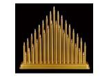33 Light Candlebridge - Gold 36cm