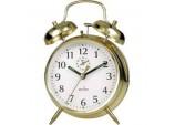 Saxon Bell Alarm Clock - Brass