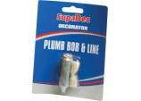 Decorator Plumb Bob & Line