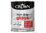 Non Drip Gloss 750ml - Pure Brilliant White