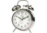 Saxon Bell Alarm Clock - Chrome