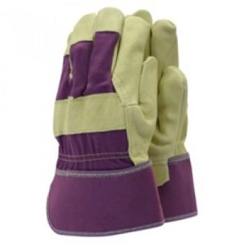 Classics De-luxe Washable Leather Gloves - Ladies Size - M