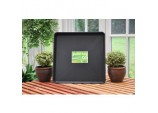 Square Garden Tray - Black