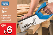 Tenon Saw – Now Only £6.00