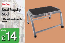 Steel Step-Up Stool  – Now Only £14.00