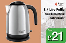 1.7 Litre Kettle – Now Only £21.00