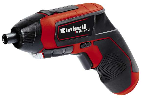 3.6V Cordless Screwdriver – Now Only £20.00