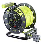 ProXT 13Amp 25m 4 sockets Open Cable Reel – Now Only £30.00