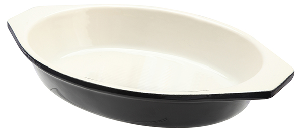 1.5 Litre Cast Iron Oval Dish - Red – Now Only £14.00