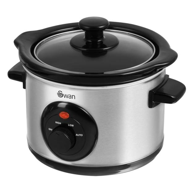 1.5 Litre Stainless Steel Slow Cooker – Now Only £15.00