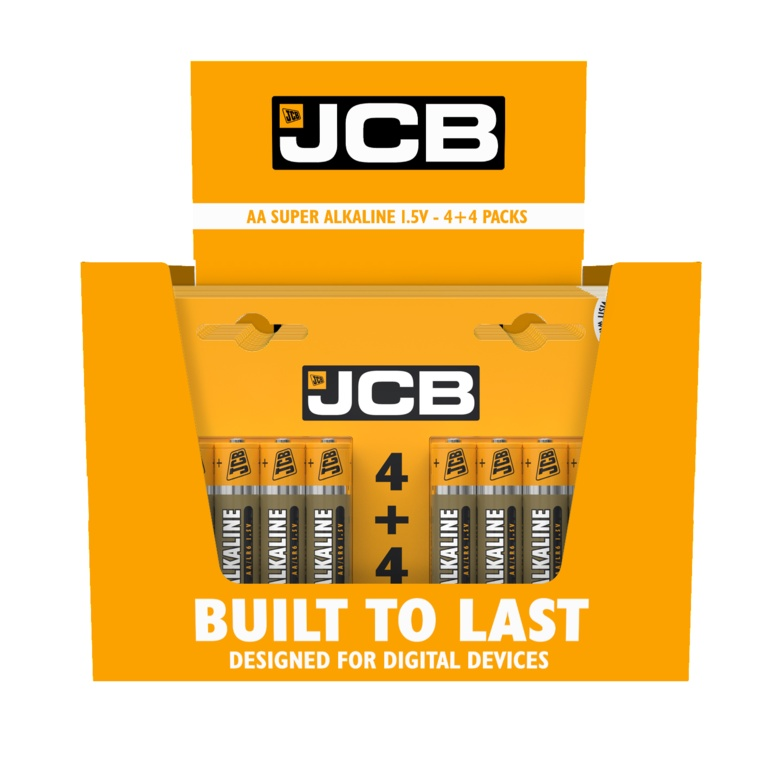 Super Alkaline Batteries AA - Pack of 4 + 4 FREE – Now Only £3.00