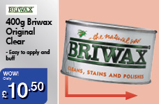 400g Briwax Original Clear – Now Only £10.50