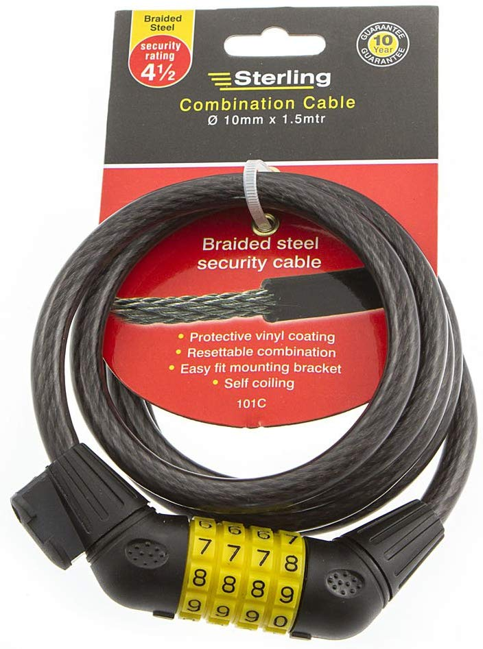 Combination Locking Cable