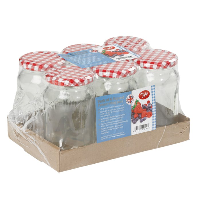 1lb Jars - Pack of 6 – Now Only £8.00