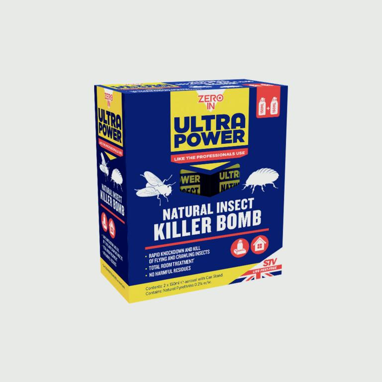 Ultra Power Natural Insect Killer Bomb - Pack of 2 – Now Only £9.00