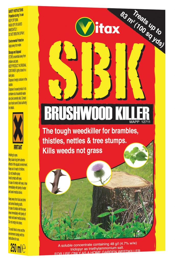 SBK Brushwood Killer 250ml – Now Only £7.00