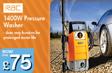 1400W Pressure Washer – Now Only £75.00