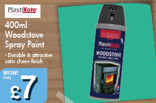 400ml Woodstove Spray Paint – Now Only £7.00
