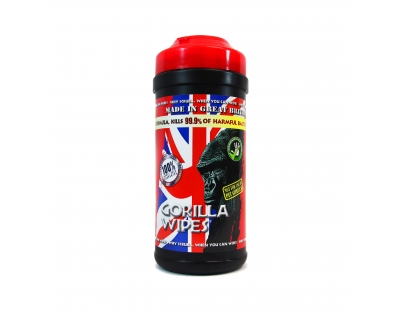 Gorilla Wipes Tub - Pack of 80 – Now Only £5.00