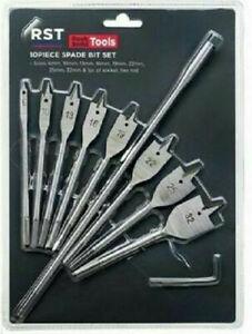 Spade Bit Set - 10 Pieces – Now Only £7.00