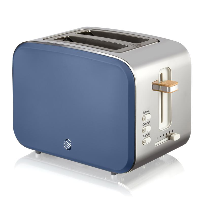 2 Slice Nordic Toaster - Blue – Now Only £39.00